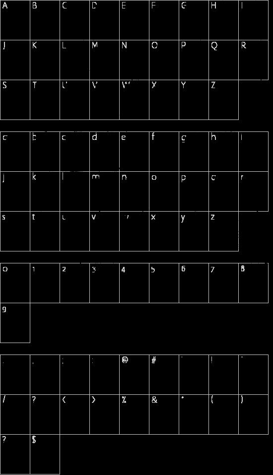3 theHard way RMX Schriftart Font Download Kostenlos