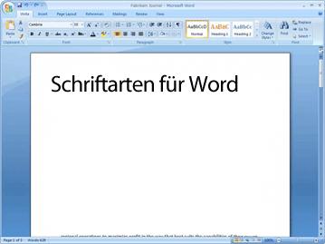 Schriftarten für word kostenloser download informationen und