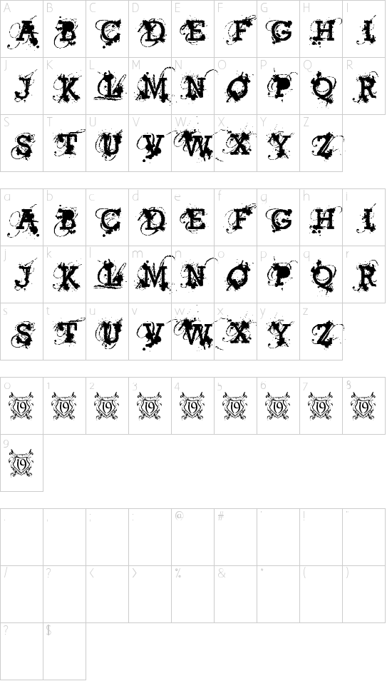 American Bravado Schriftart Font Download Kostenlos