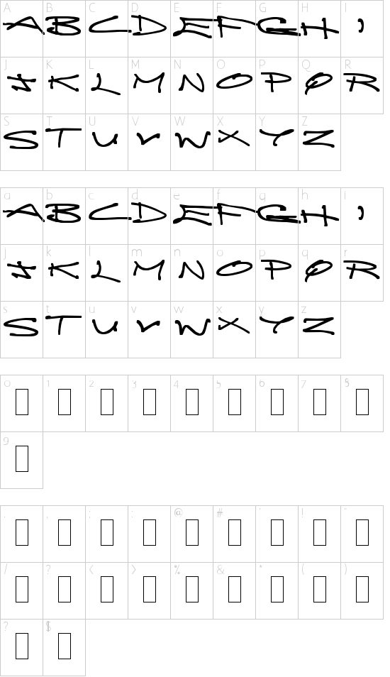 Brainless Thoughts Compact Schriftart Font Download Kostenlos