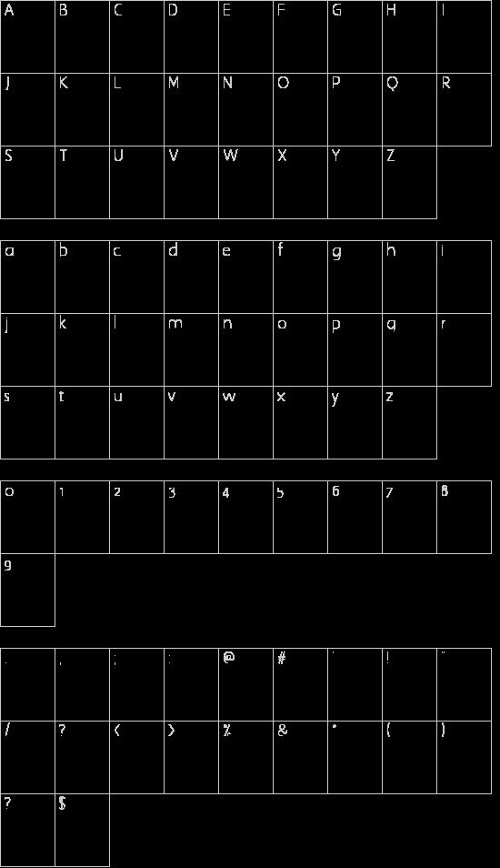 British Outline Majuscules Schriftart Font Download Kostenlos