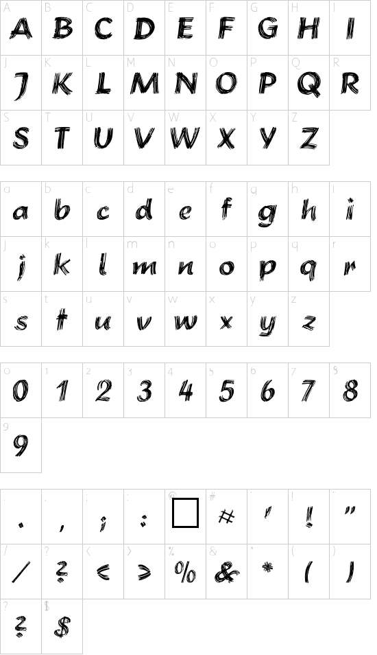 Brushstroke Plain Schriftart Font Download Kostenlos