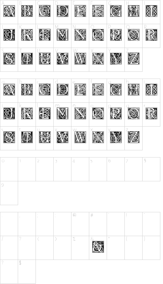 CelticEels Schriftart Font Download Kostenlos