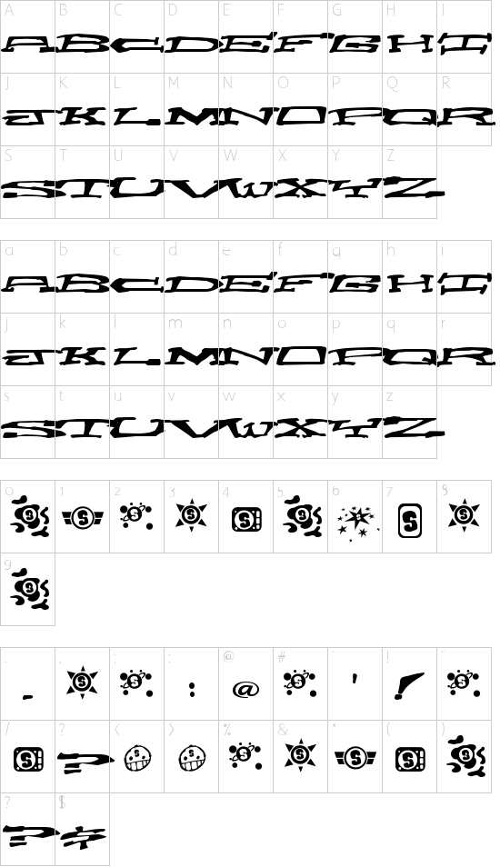 Chain Crank Schriftart Font Download Kostenlos