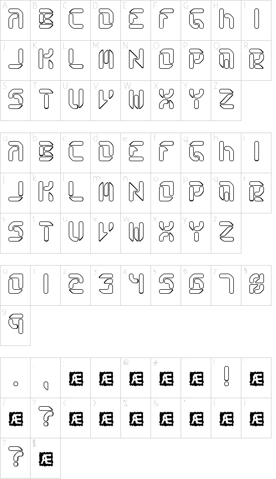 Collective RO BRK Schriftart Font Download Kostenlos