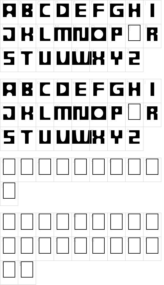 DS Progress Schriftart Font Download Kostenlos
