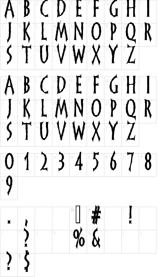 FrankenDork Schriftart Font Download Kostenlos