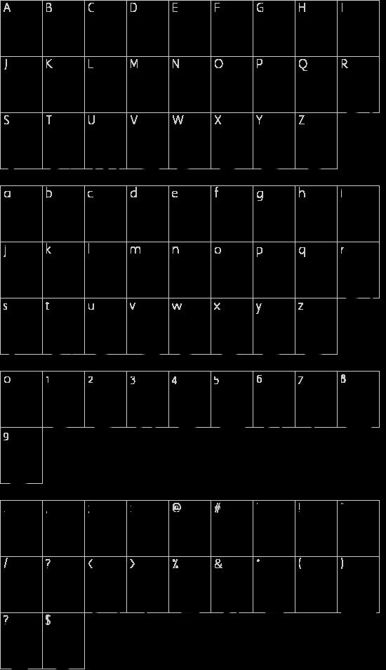 Frigate Katakana - 3D Schriftart Font Download Kostenlos