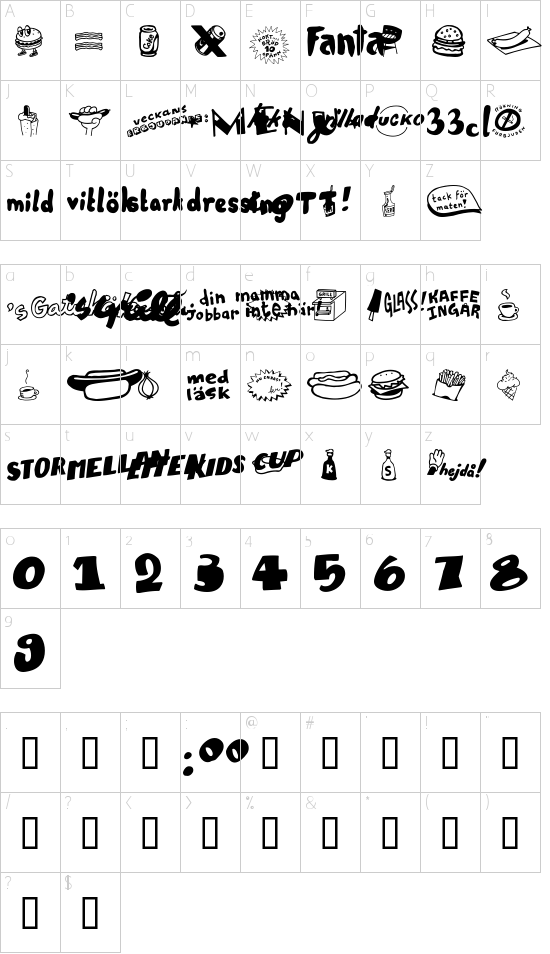 Grill Sans Schriftart Font Download Kostenlos
