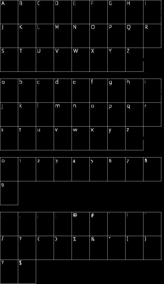 Horror Dingbats Schriftart Font Download Kostenlos