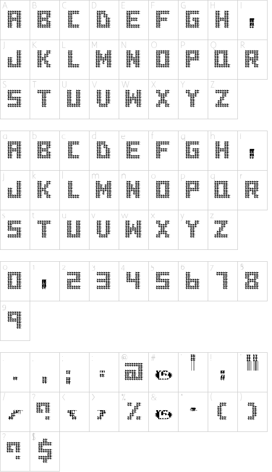 houndstooth Schriftart Font Download Kostenlos