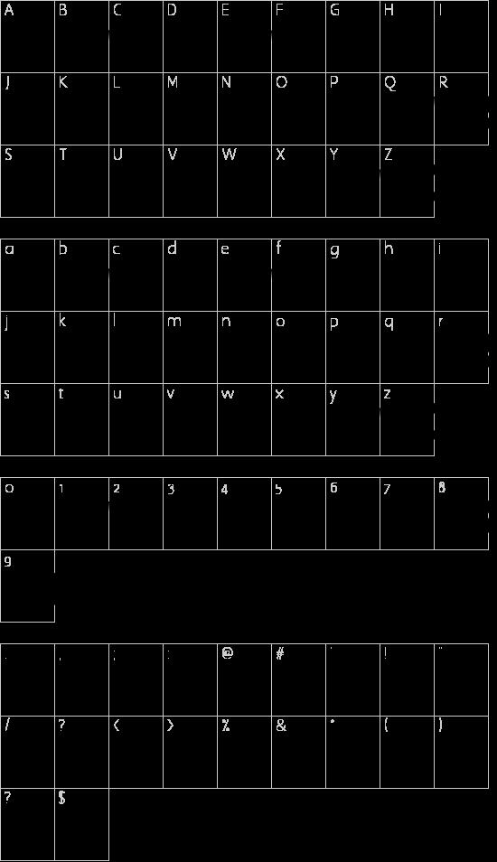 Inner Sanctum Schriftart Font Download Kostenlos