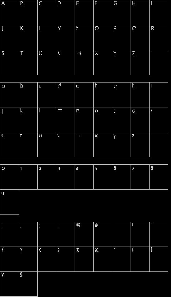 jailbIrD JenNA Schriftart Font Download Kostenlos