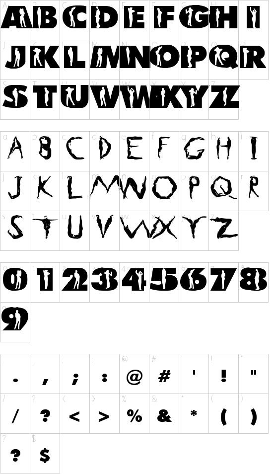 LC Body Schriftart Font Download Kostenlos