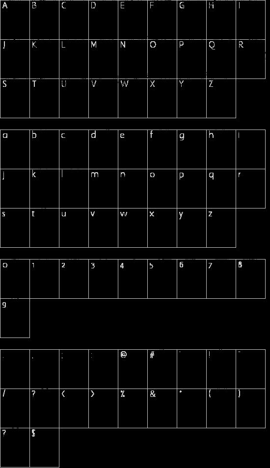 Maternellecolor creuse Schriftart Font Download Kostenlos