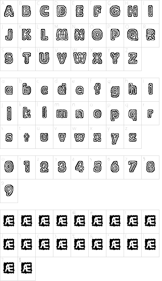 Raydiate (BRK) Schriftart Font Download Kostenlos