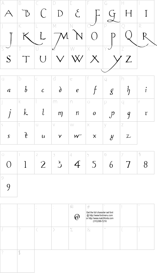 Rodolphe Tryout Schriftart Font Download Kostenlos