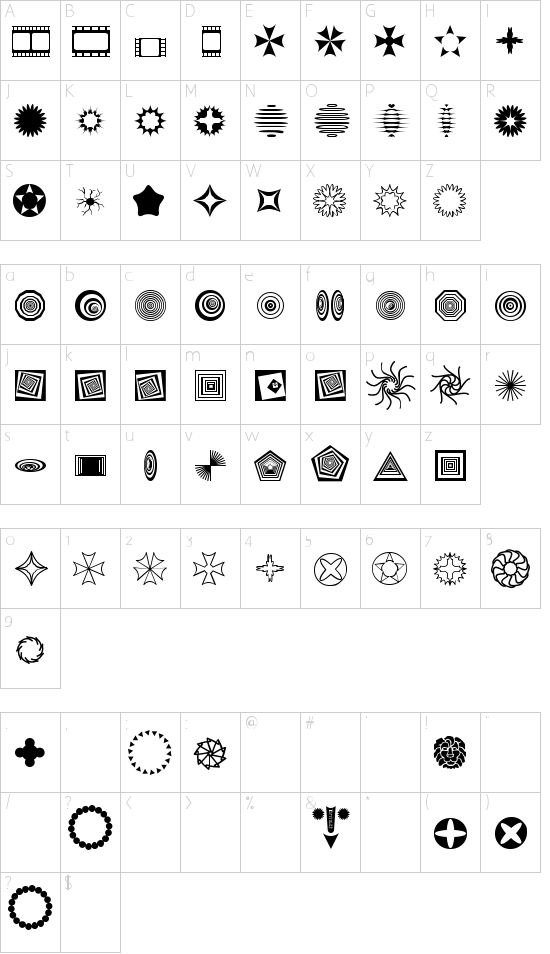 Texticles Schriftart Font Download Kostenlos