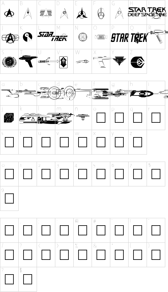 Trekbats Schriftart Font Download Kostenlos