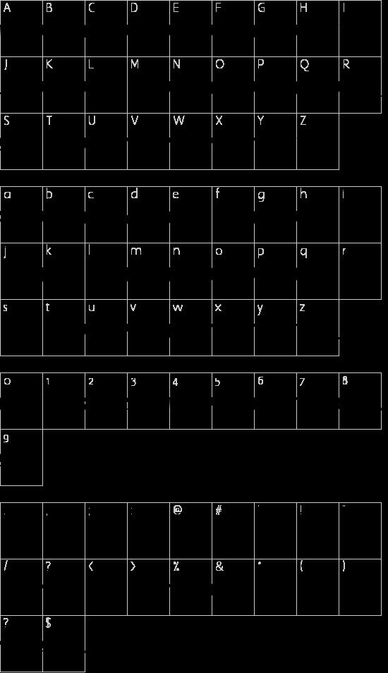 U.S.A. Left Schriftart Font Download Kostenlos