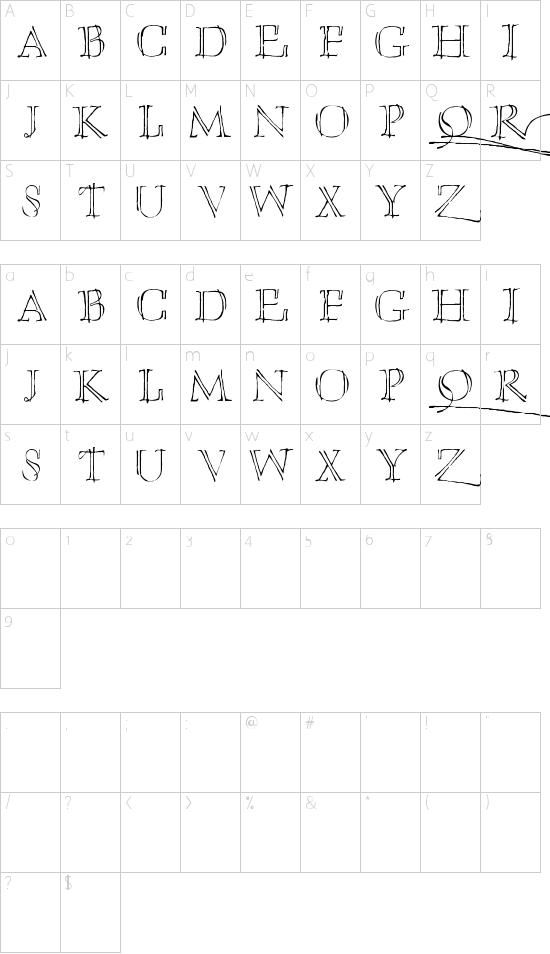 Umberette Schriftart Font Download Kostenlos