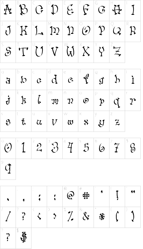Wacko Schriftart Font Download Kostenlos