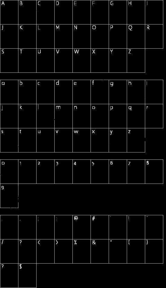 WC Rhesus A Bta Schriftart Font Download Kostenlos