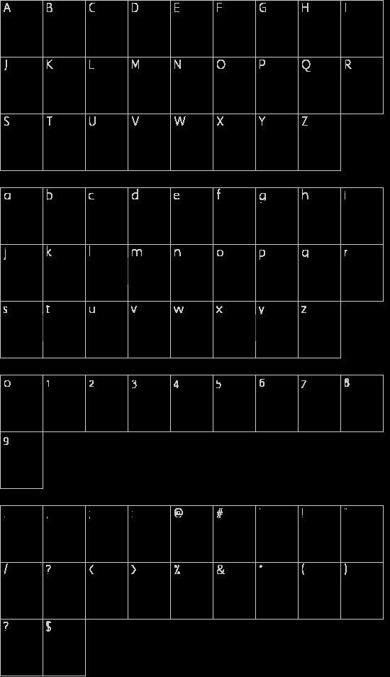 YY Old English Dingbats Schriftart Font Download Kostenlos