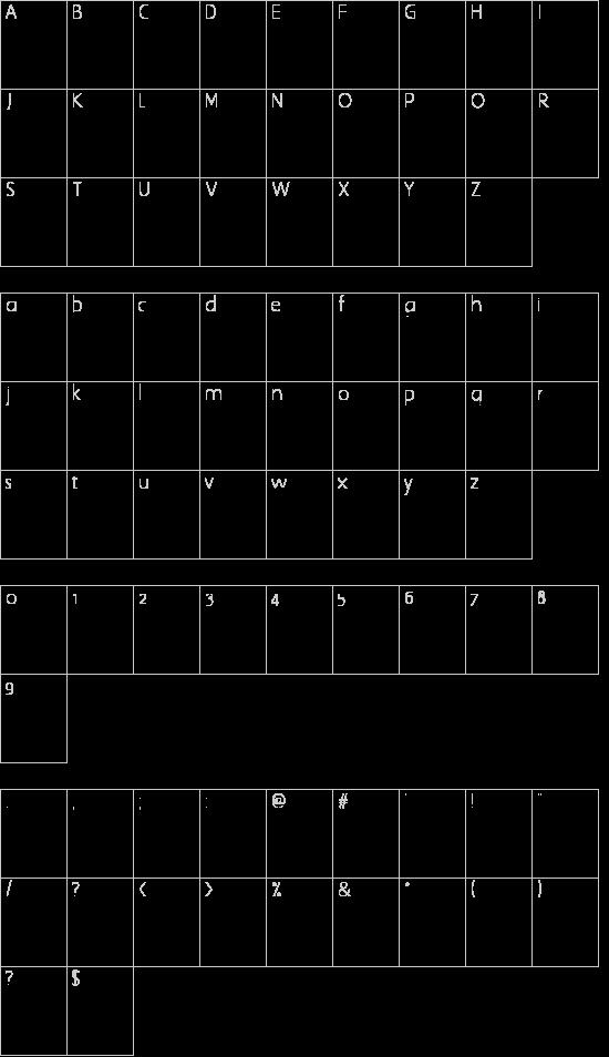 ZodiacsSignStars Schriftart Font Download Kostenlos